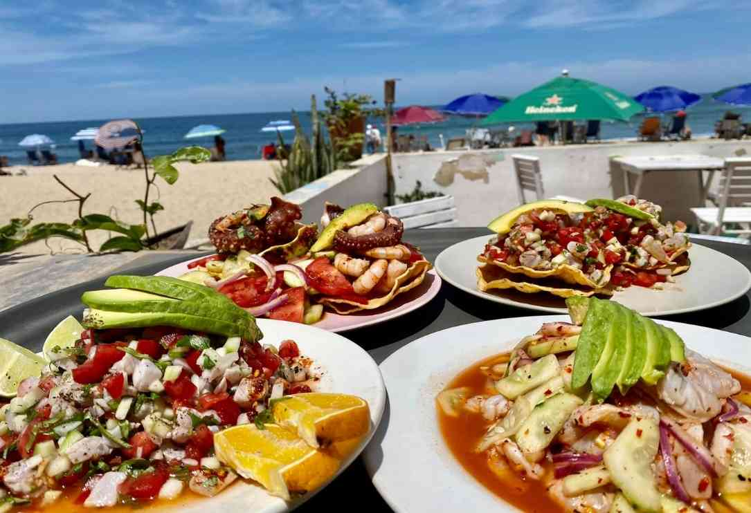 best sayulita restaurants by the beach