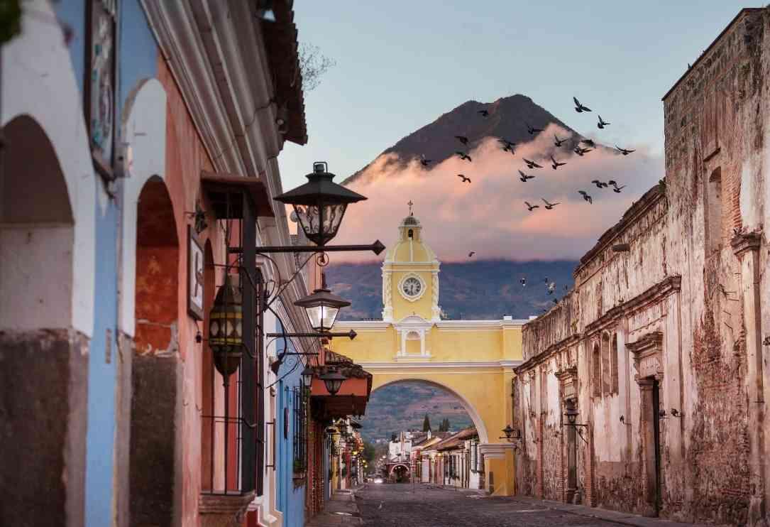 living in antigua guatemala